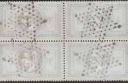 Timbre poste français année 1863-1870