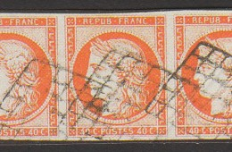 Timbre poste français année 1850
