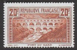 Timbre poste français année 1929