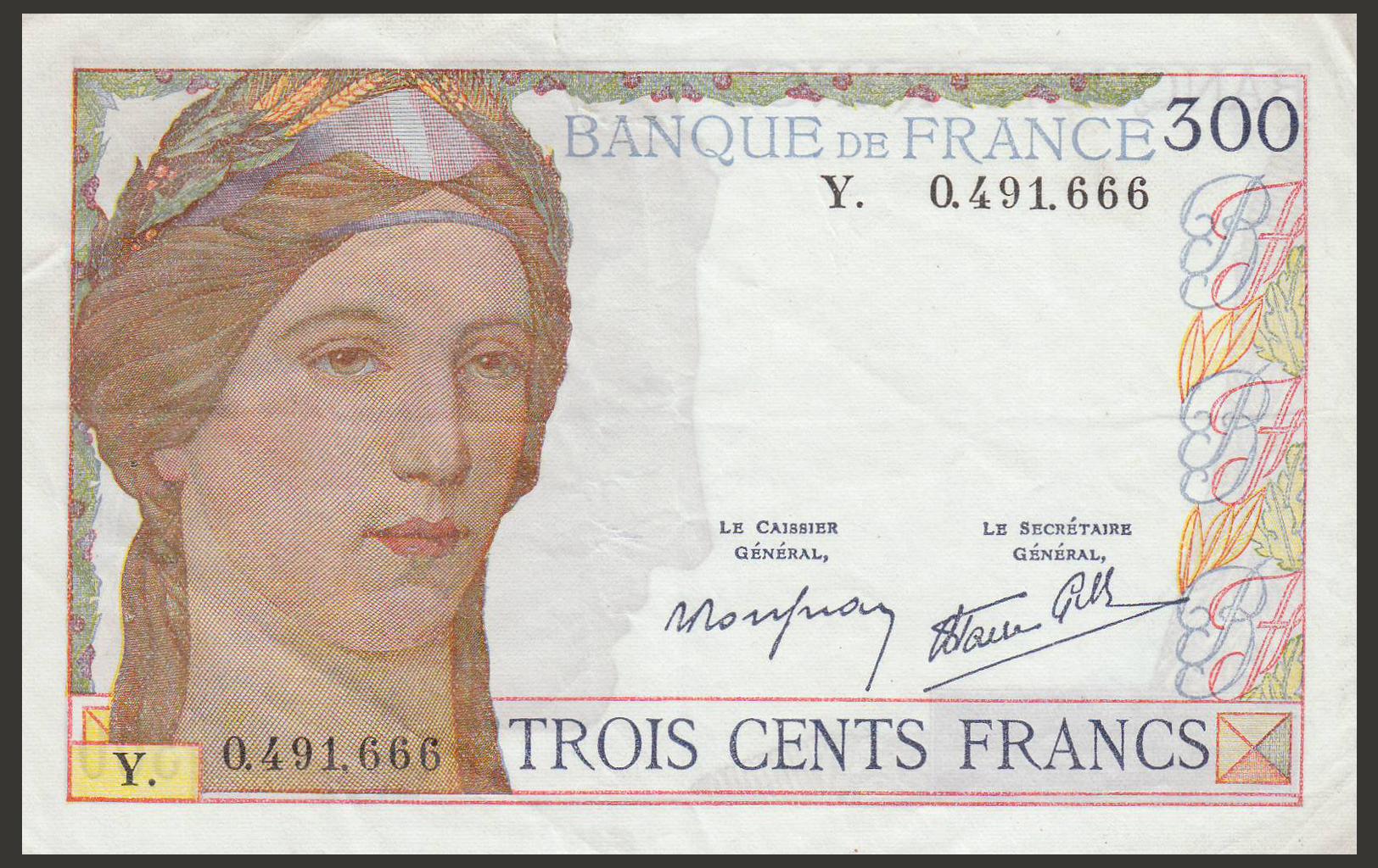 billet-france-300-francs