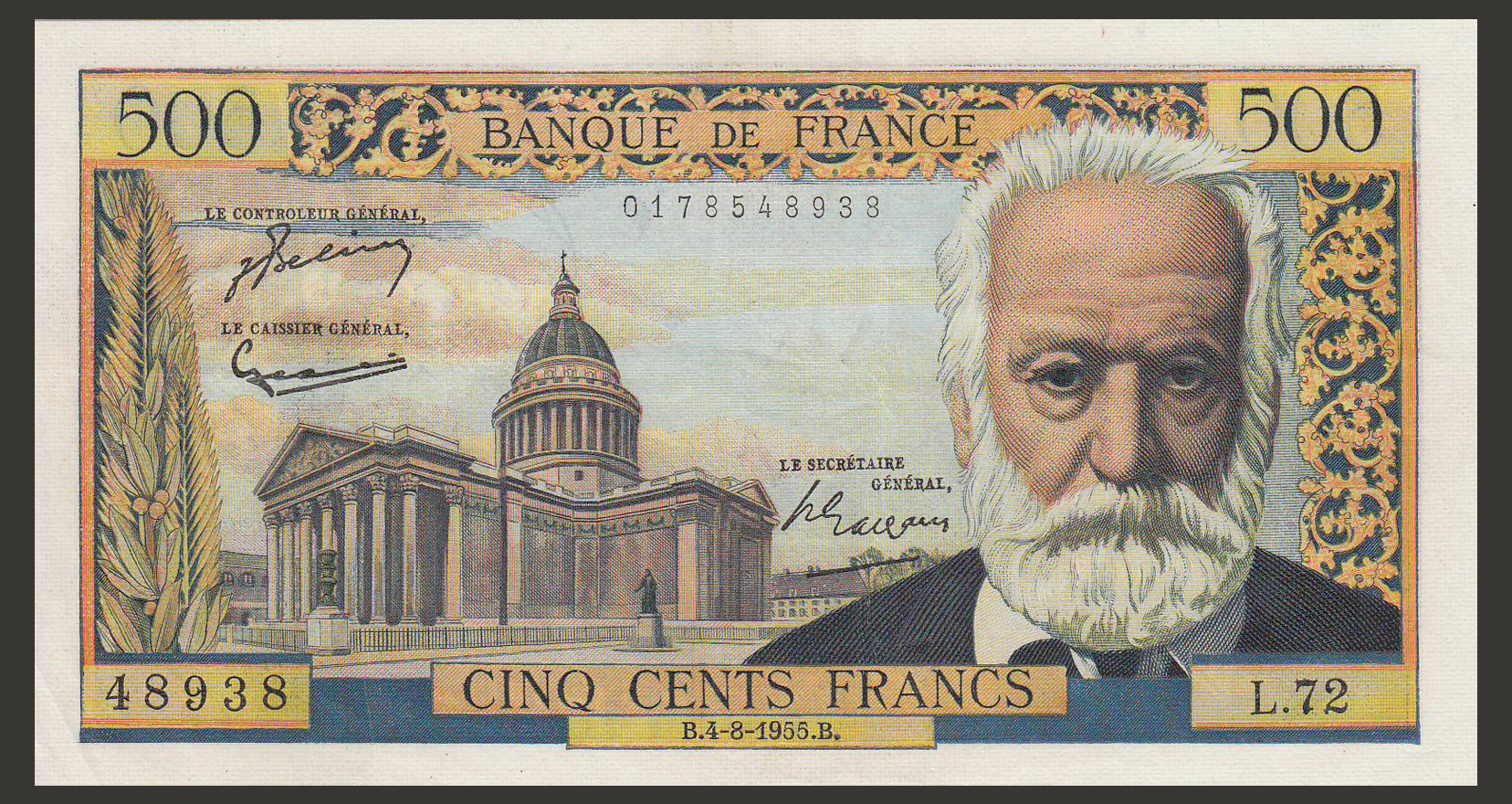 billet-france-500-francs-victor-hugo