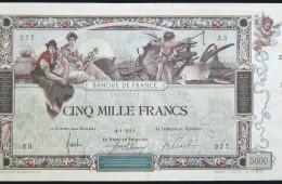 5000 Francs Flameng