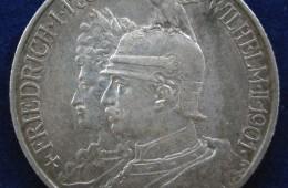 2 Mark en argent Prusse 1901