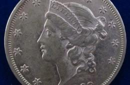 20 Dollars Liberté année 1863